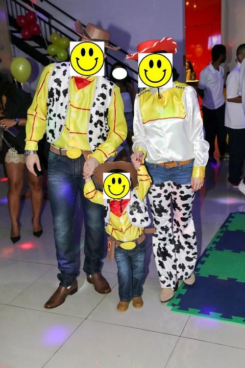 Fantasia Toy Story Família 3 Fantasias - Desapega