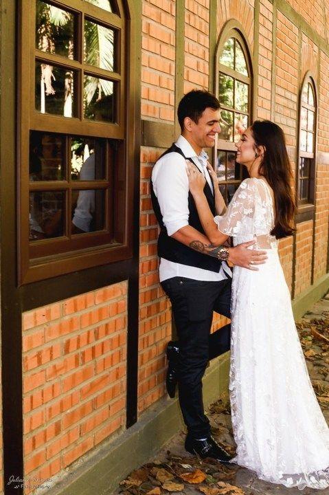 Vestido Branco Pré Wedding Desapega