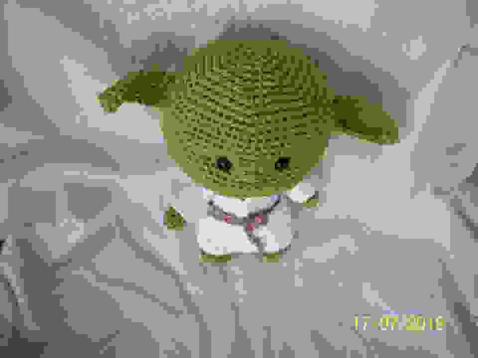 Mestre Yoda Chibi 🖤 Pra quem ainda não... - Chiharu Suh ...   768x1024