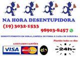 (19) 98903 8457 Desentupidora no Jardim das Amoreiras em Campinas, Orçamento Grátis