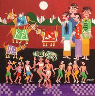 Aecio Tema Festa de Carnaval Medida 60X60