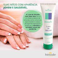 Creme p/ Mãos Luva de Silicone c/ Aloe Vera