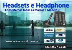 Conserto Headset e Headphone