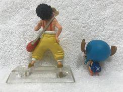 Action Figure Tony Chopper 4 Cm e Usopp 8 Cm One Piece