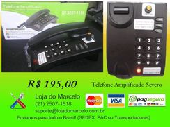 Vendo Telefone Amplificado para Deficientes Auditivos