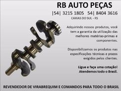 Virabrequim Ford 7630 Fone