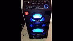 Caixa Amplificada Lenoxx CA 318