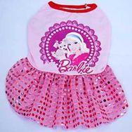 Vestido Roupa Pet Cachorro Cão Gato Boneca Barbie