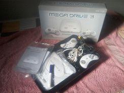 """Mega Drive 3 81 Jogos """" na Caixa, com Manual"""""""