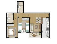 Apartamento Cenário