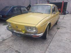 VW Tl 1600 73/73 Placa Preta