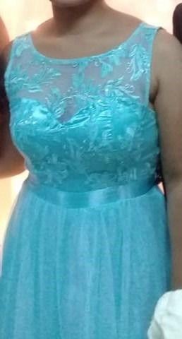 Vestido Azul Turquesa Desapega