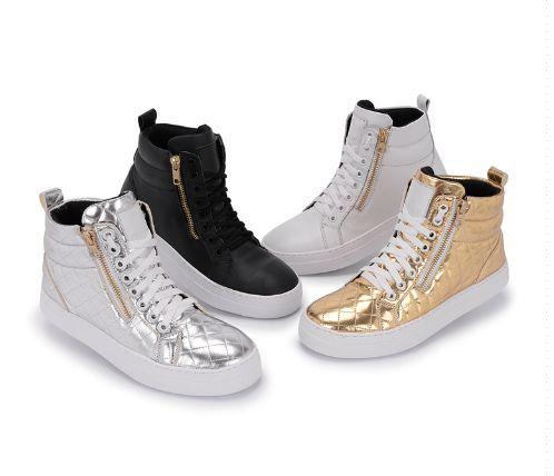 603db2f2f7019 Bota Sneaker Feminino de Zíper do Tamanho 33 ao 40 - Desapega