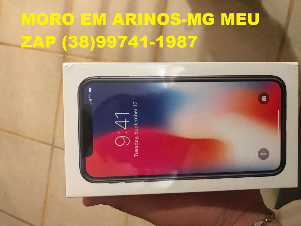 e143bdb70 Apple Iphone X 256Gb Cinza Espacial Original Nacional Anatel Lacrado ...