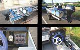 Barco / Lancha de Passeio em Aluminio com Motor 40 Hp 2T