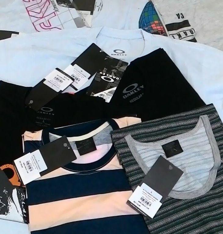 ... Camiseta Oakley Atacado - 10 Camisa Top as Mesmas Vendidas em Shopping  ... db95fbf8c3