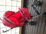 Carrinho de Bebê Vermelho