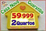 Compre Agora - 59.999 - Guaratiba / Praia da Brisa - 2 Quartos - 1ª Locação