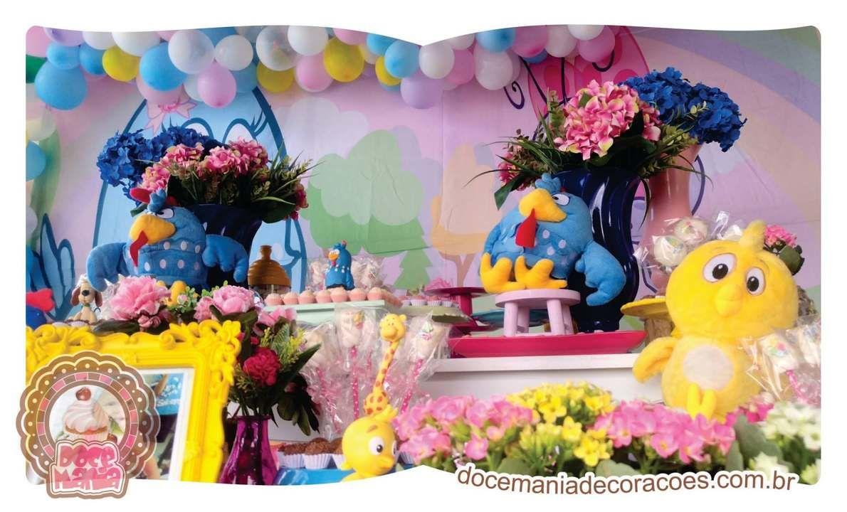 Decoraç u00e3o Galinha Pintadinha Rosa Desapega -> Decoração De Festa Galinha Pintadinha Rosa