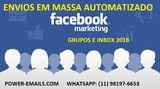 Facebook Grupos e Inbox Automatizado Envios em Massa 2018