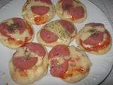 Mini Pizzas a 1 Real Cada