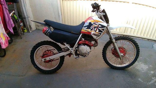 Moto Para Tilha Preparada Honda Xr 200cc Desapega