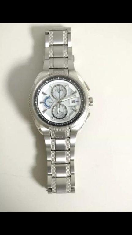 b7f3432354c Relógio Citizen Eco-Drive Super Titanium Ca0201-51B - Desapega