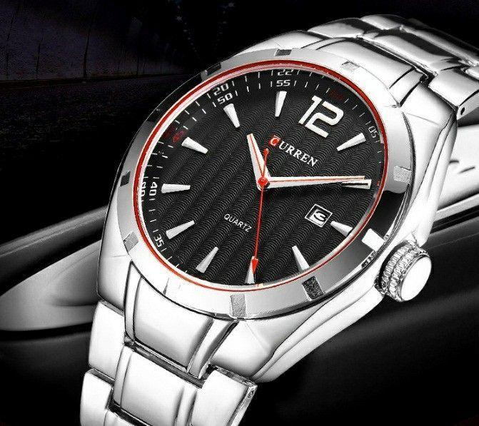 89a3affd14e Relógio Masculino Aço Inoxidável Executivo - Desapega
