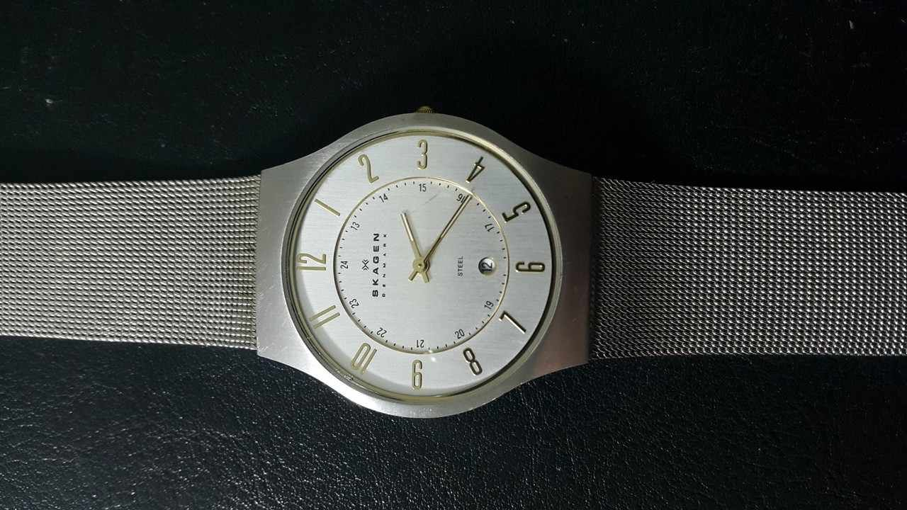 451459c38d6 Relógio Skagen Denmark - Desapega