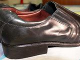 Sapato Social Masculino de Couro, Preto, da Marca Cns