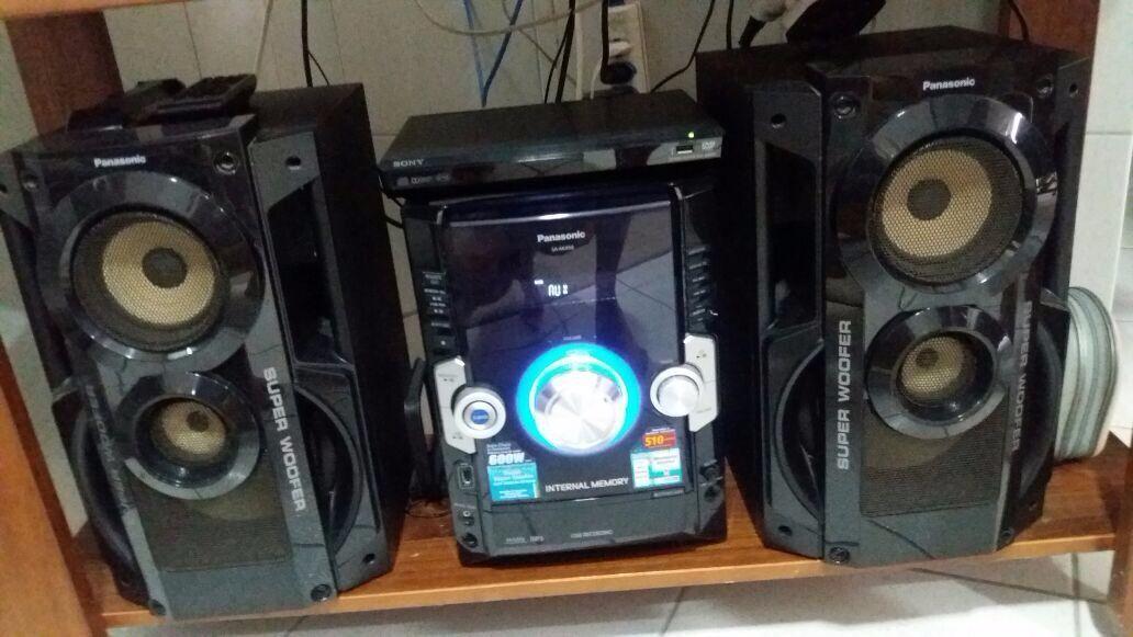Som Panasonic Sa Akx50