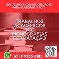 Tcc Trabalhos Acadêmicos