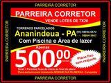 Terrenos Ananindeua, É no Site Oficial Parreira Corretor