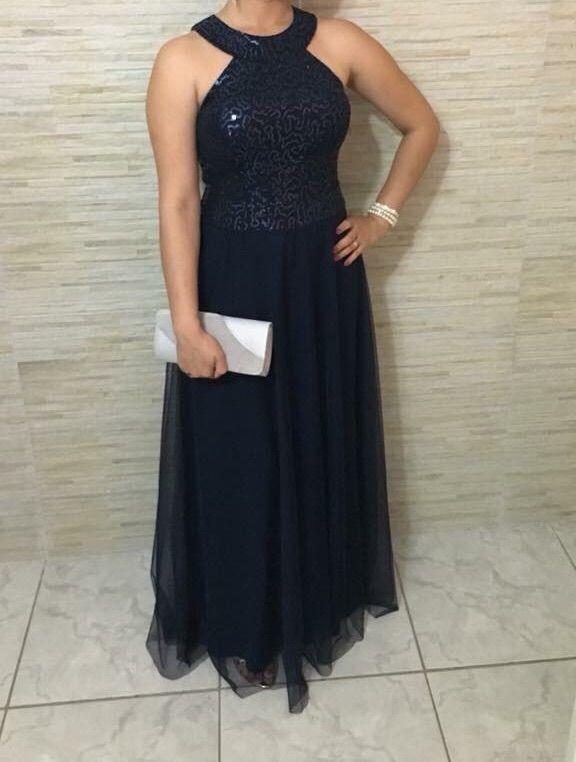 Imagens de vestido de festa azul royal